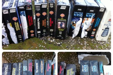 Photo: More #DoctorWho videos destroyed thanks to...