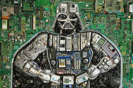 "Photo: Techno Vader! ""More machine than man.""..."