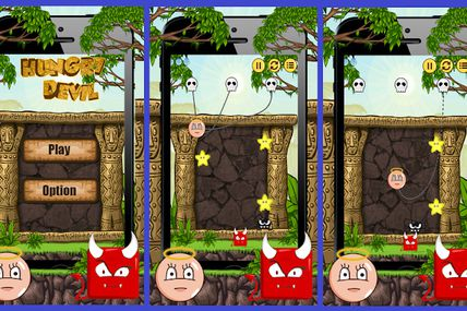 Hungry Devil #iPhone #Game Source Code now...