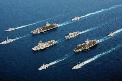 La russie et des préparatifs de guerre... et p-e même la Chine...affaire à suivre...