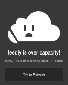 This Feedly blog entry explains the overloaded...