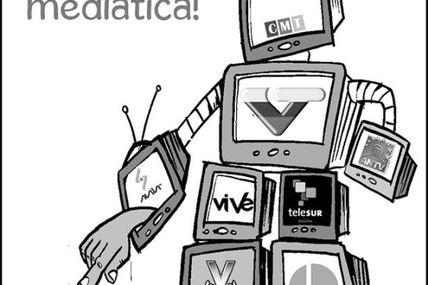 Breve historia de Globovisión en caricaturas