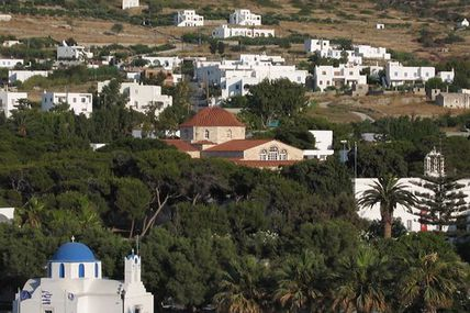 La icoana Maicii Domnului Ekatondapiliani (Paros)