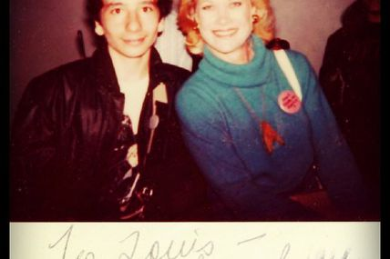 Bibi Besch, who played Dr. Carol Marcus in #StarTrek The Wrath of Khan would had been 71 today. Here I am with her circa 1983