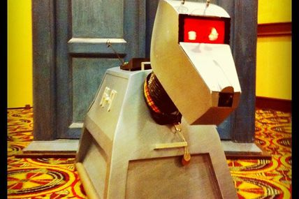 K-9 at Gallifrey One 2011. #gally #DoctorWho