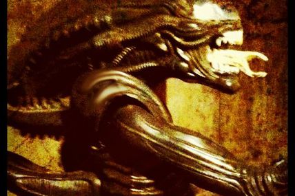 I shot this #Alien two years ago in honor of H.R....