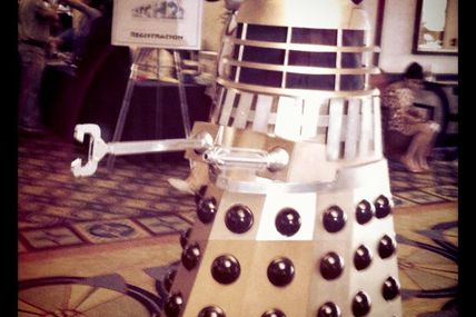 It wouldn't be Gallifrey One without a Dalek or two.