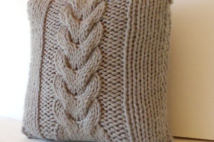 16x16 Hand knitted C