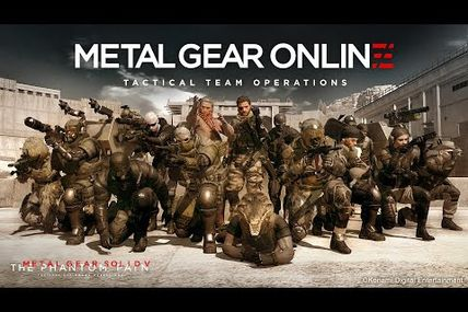 Métal Gear online gameplay
