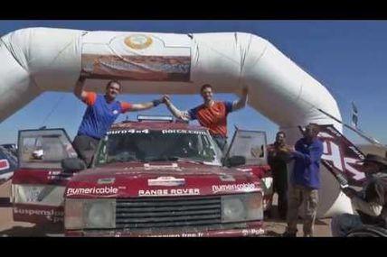 Toujours et encore de belles vidéos, un range rover V8 et 2 RZR 1000 sur le M'hamid Express 2015 notre rallye raid au Maroc