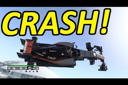 Crash,bug,glitch F1 2015 ps4