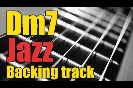 Jazz backing track in D minor