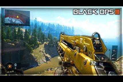 Glitch / sortir de la carte Redwood sur Black ops 3