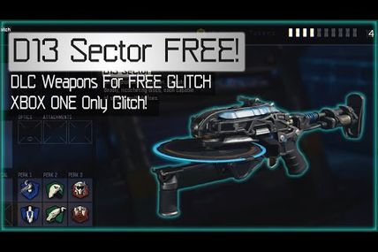 Glitch / Black ops 3 Dlc armes : obtenir la D13 Sector gratuitement