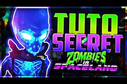 Tuto FRANCE / Infinite Warfare Zombie  : faire le secret complet de Spaceland !