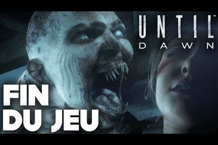 Until Dawn France / fin du jeu + fin secrete Ps4