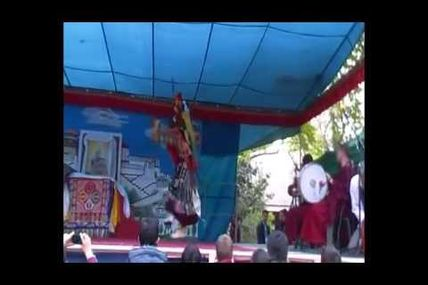 Sacred dances by Tibetan monks from Sera Mey