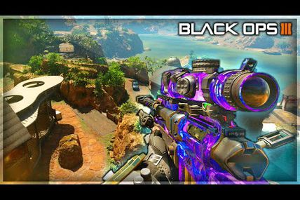 "Glitch / Black ops 3 : le meilleur spot de la carte ""Hunted"""