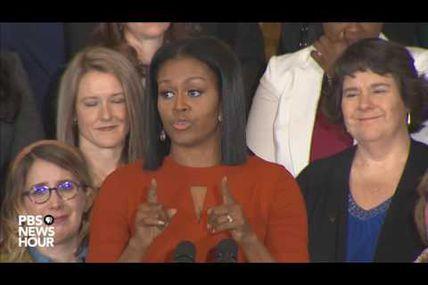 Michelle Obama: 'I hope I've made you proud'