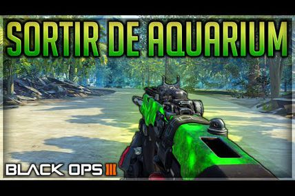 Glitch / Aquarium / sortir de la carte sur Black ops 3