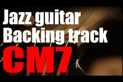 CM7 jazz backing track on youtube