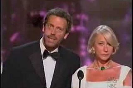 Hugh Laurie doesn't speak French ???