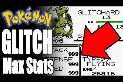 Glitch / Pokemon : avoir ses stats au max!!!
