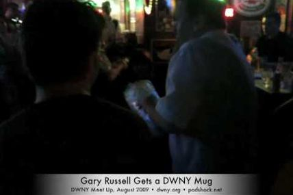 Gary Russell Gets a Mug