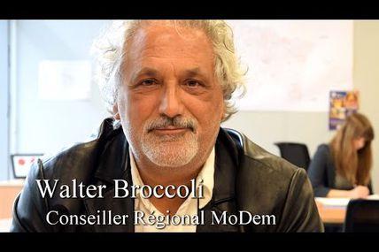 """Walter Broccoli : """"On vous donne la possibilité de faire de la politique"""