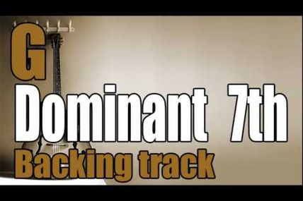 G7 jazz backing track on youtube
