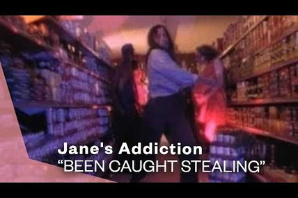 """One track a day: """"Been caught stealing"""" by Jane's Addiction"""