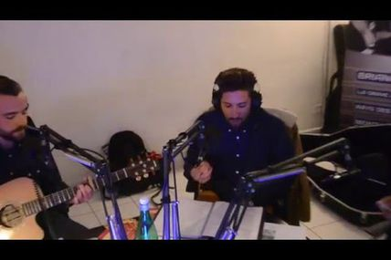 "Radio Imagine - Live : Le trio Consortium reprend ""Bella"""