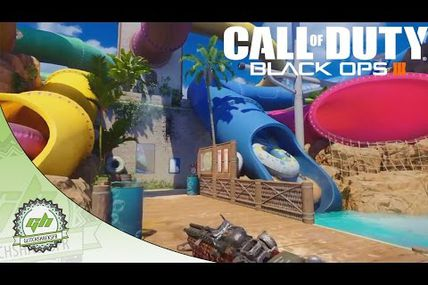 "Glitch / Black ops 3 : deux belles planques sur la carte ""Splash"""