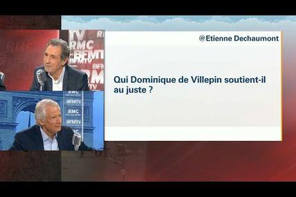 Fillon? Macron? Mais qui Villepin soutient-il au juste?