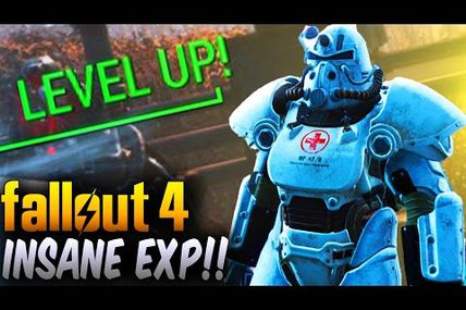 Glitch / Fallout 4 : avoir 10-20k xp par minute!
