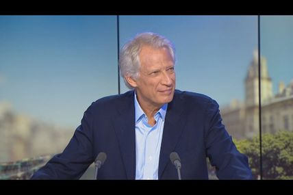 "Dominique De Villepin: ""it's important to be united as Europeans and to take the lead"""