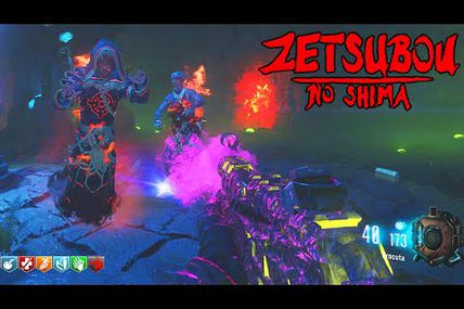 "Gameplay / Black ops 3 : la nouvelle carte Zombie ""Zetsubou no shima"""