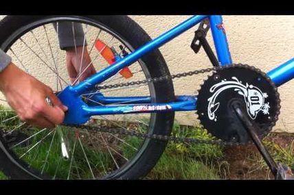 Dans la rubrique réparation du BMX