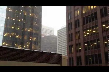 View from Here: Snowing in Philadelphia (Part 2)...