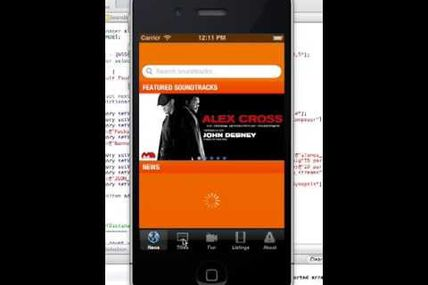 Sound Track iPhone Application Source Code   Demo of Sound Track iPhone App
