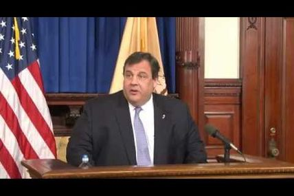 Governor Christie: Natural Disasters Don't Happen In Red States Or Blue States