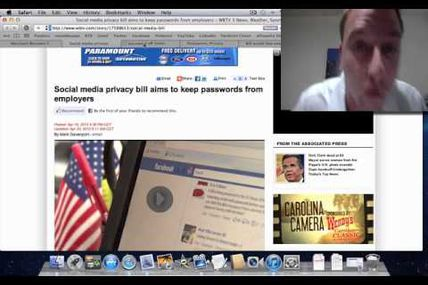 Employers and Facebook Passwords [Ryan's Rants]...