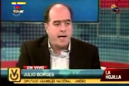 "(VIDEO) Julio Borges: ""LAMENTABLEMENTE el..."