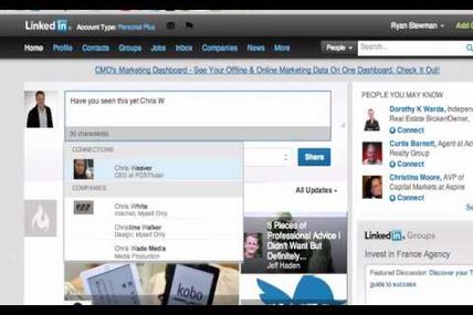 Linkedin has a new feature!  Have you used it yet?...