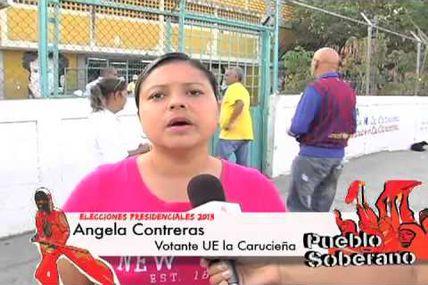#14A #VotoPorLaPatria Reporte Centro de Votación...