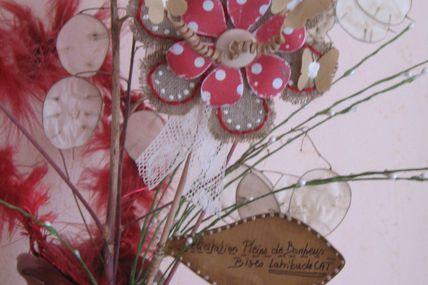 une fleur pour la mariée