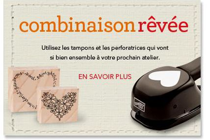 la promotion de Mars chez stampin' UP!