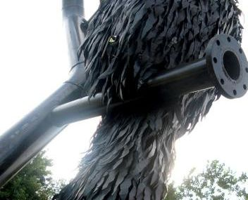 Corbeau en chambre à air