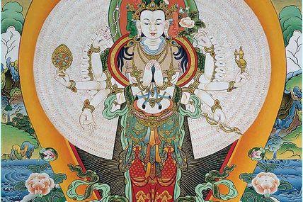Retraite Mani: 100 millions de mantras