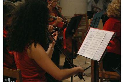 Belle violoniste